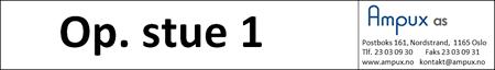 Op. stue 1